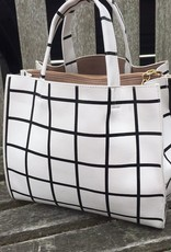 Handbags VCExclusives: Black & White Checkers