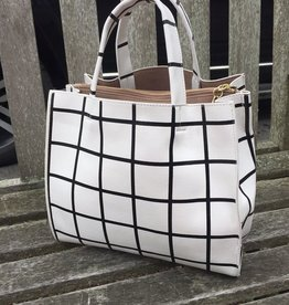 Handbags VCExclusives: Black & White Checkers