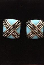 Jewelry VCExclusives: Rope Cross in Turquoise