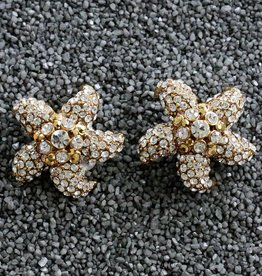 Jewelry Barrera: Gold & CZ Starfish