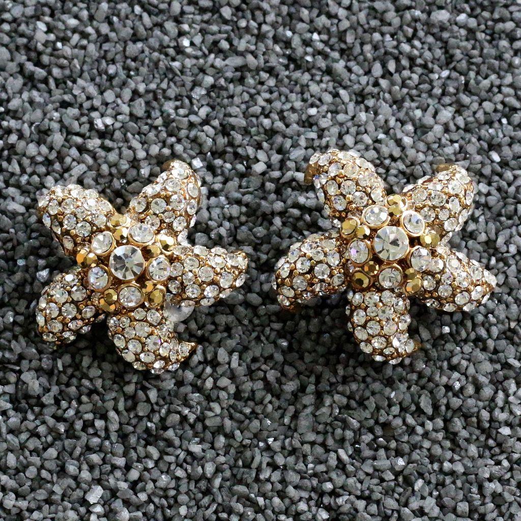 Jewelry Barrera: Gold & CZ Starfish