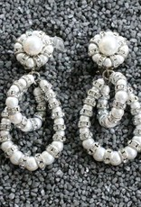 Jewelry Fmontague: Lolita Pearl Loops w/Silver