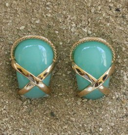 Jewelry VCExclusives: Gold X & Rope Aquamarine