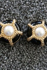 Jewelry VCExclusives: Pearl & Gold Rope Pops in Ebony