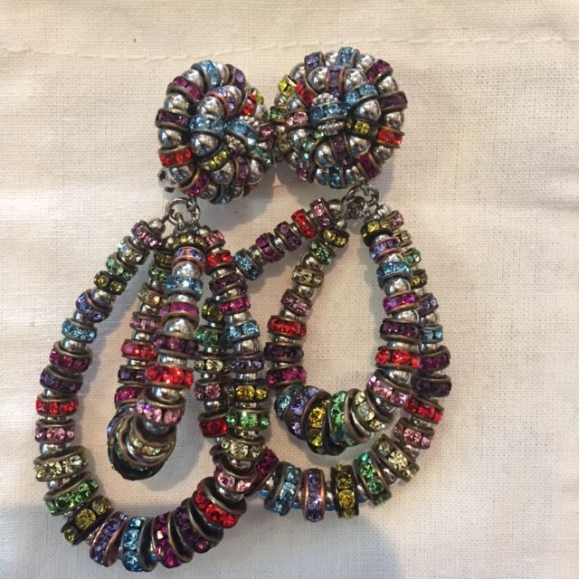 Jewelry FMontague: Lolita Multicolor Loops