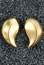 Jewelry KJLane: Tear Drop Brushed Gold