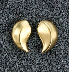 Jewelry KJLane: Tear Drop Brushed Gold