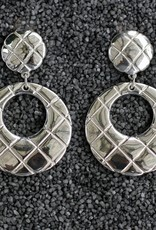 Jewelry Sebbag: Silver Hoops