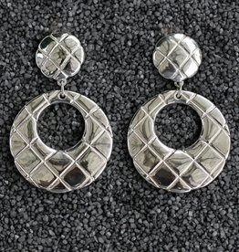 Jewelry Sebbag: Silver Hoops