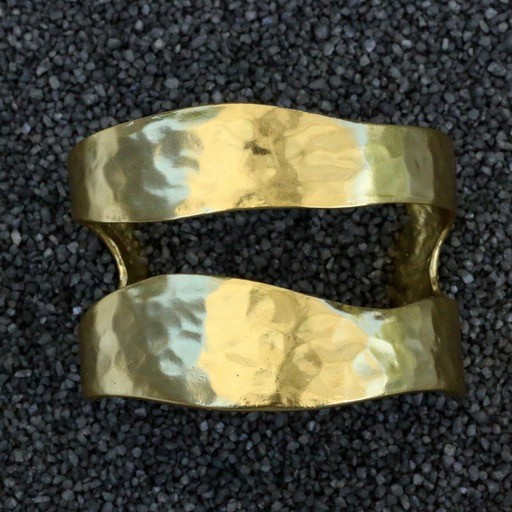 Jewelry KSultan: Free Form Gold Cuff