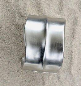 Jewelry KJLane: Satin Silver Cuff