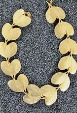Jewelry KJLane: Gold Leaf Necklace