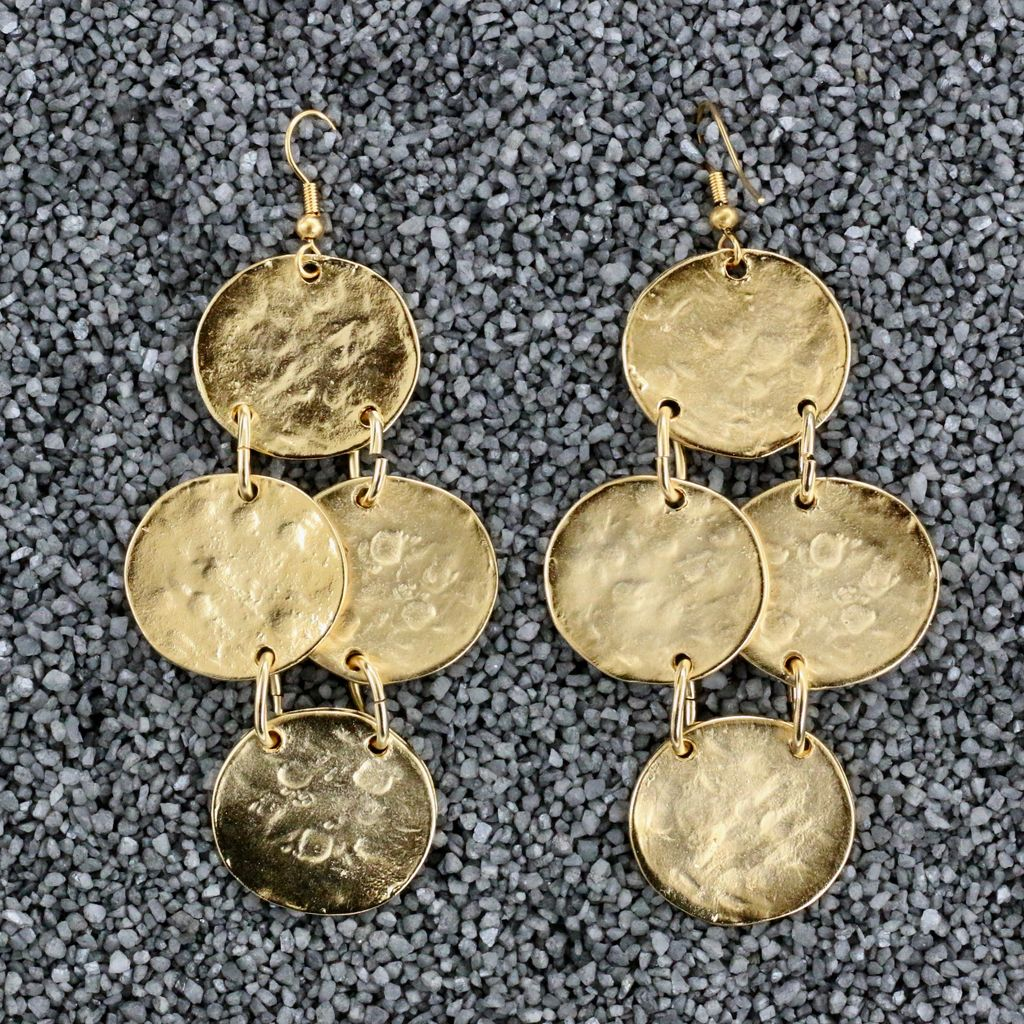 jewelry KJLane: Gold Coin Drop