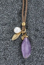 Jewelry VCExclusives: Gold Leaf, Amethyst