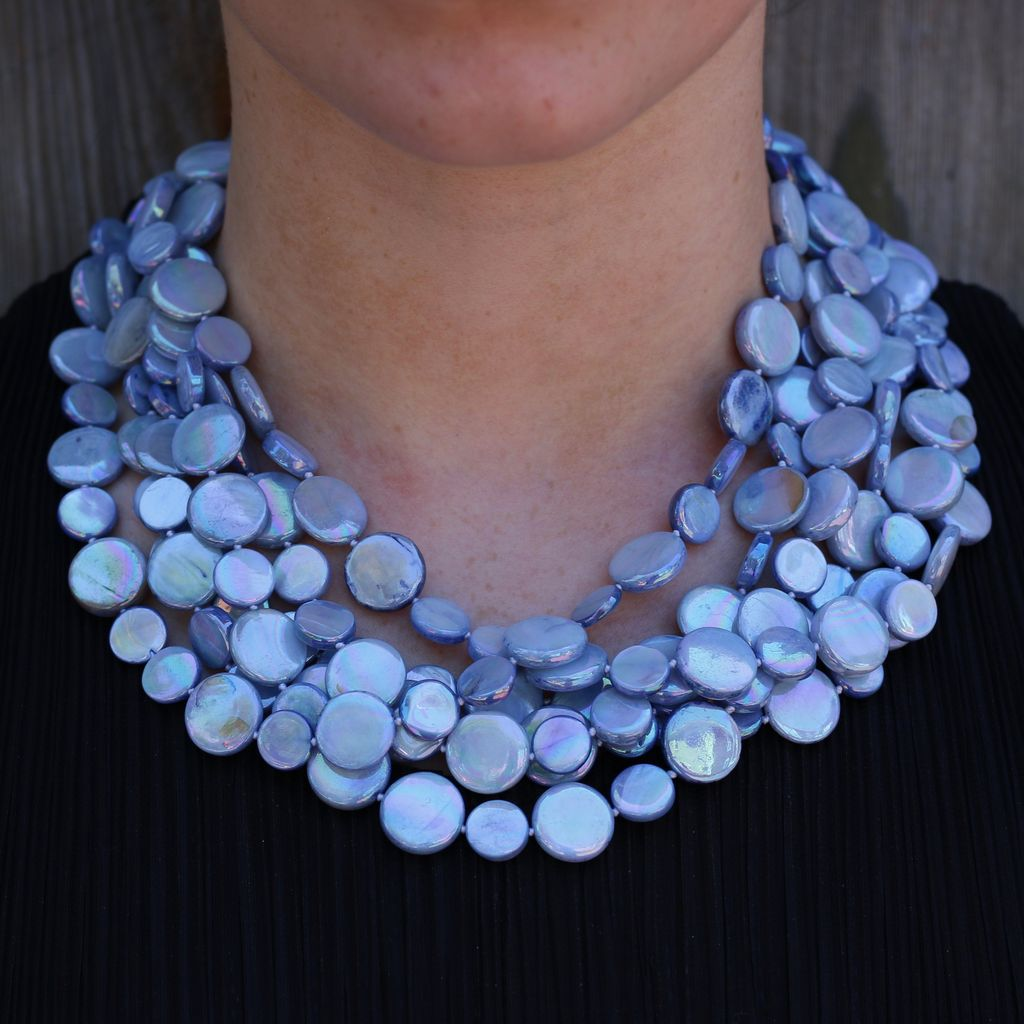 Jewelry VCExclusives: Glass Beads Blue