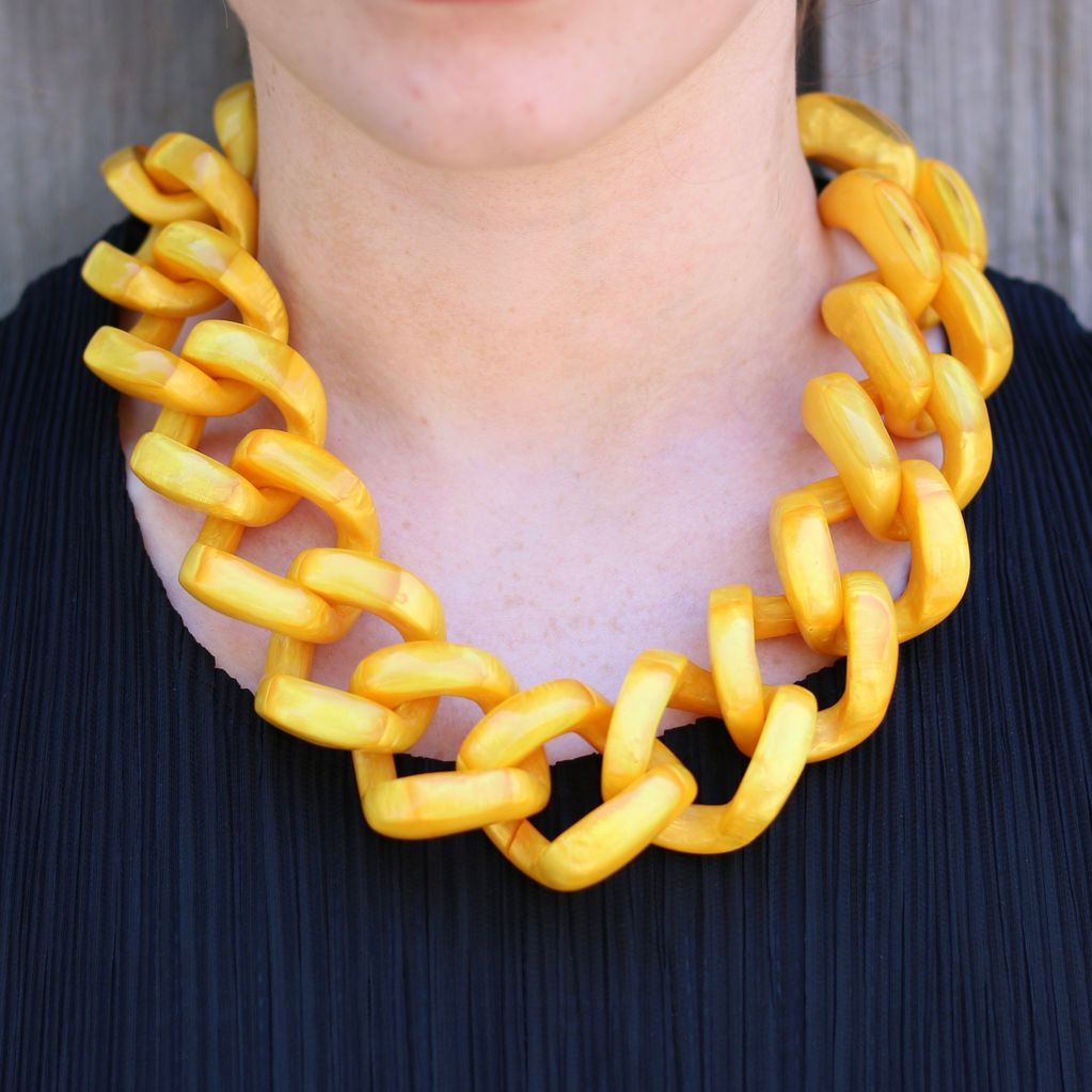 Jewelry Denaive: Caroline Ocra Lucent Resin