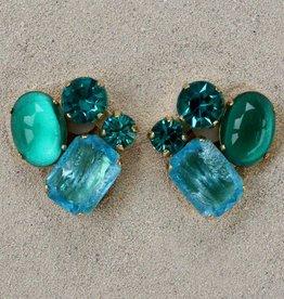 Jewelry Blinn: Four Stone Blue