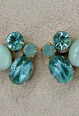Jewelry Blinn: Four Stone Oval Pale Blue