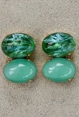 Jewelry Blinn: Two Stone Oval Jade
