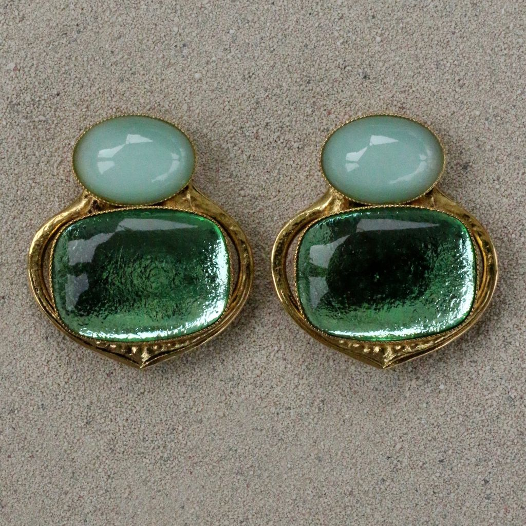 Jewelry Blinn: Two Stone Small and Large Oval