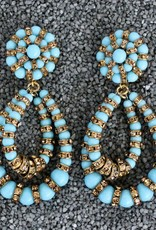 Jewelry FMontague: Lolita Turquoise and Gold