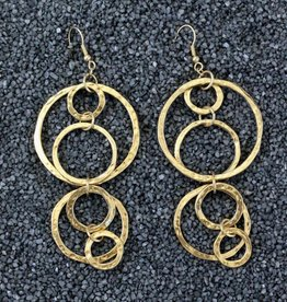 Jewelry KSultan: Gold Circles in Circles