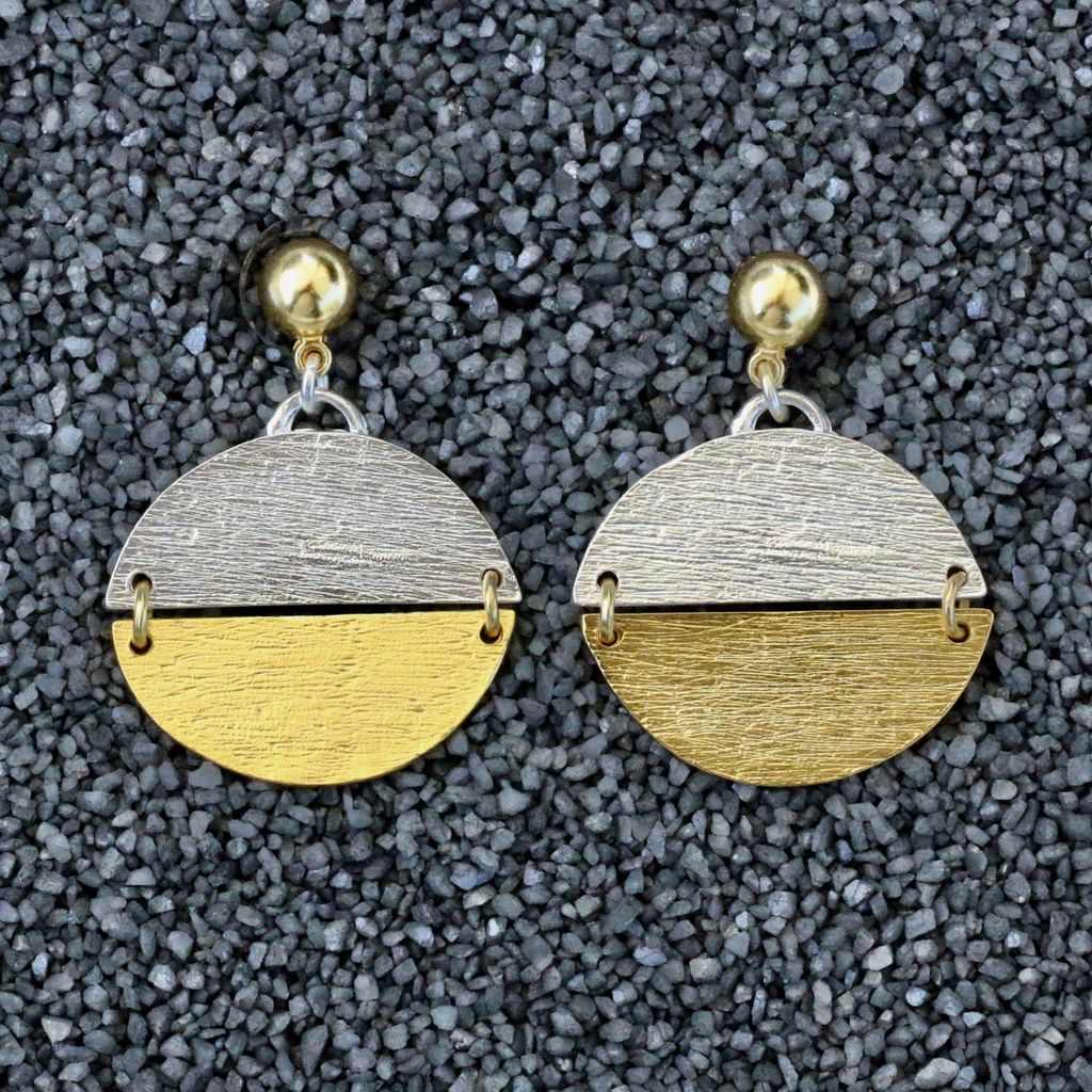 Jewelry KSultan: Gold and Silver Half Coins