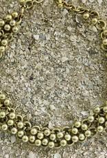 Jewelry Vaubel: Gold Small Knitte Balls