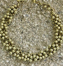 Jewelry Vaubel: Vermeil Small Knitte Balls