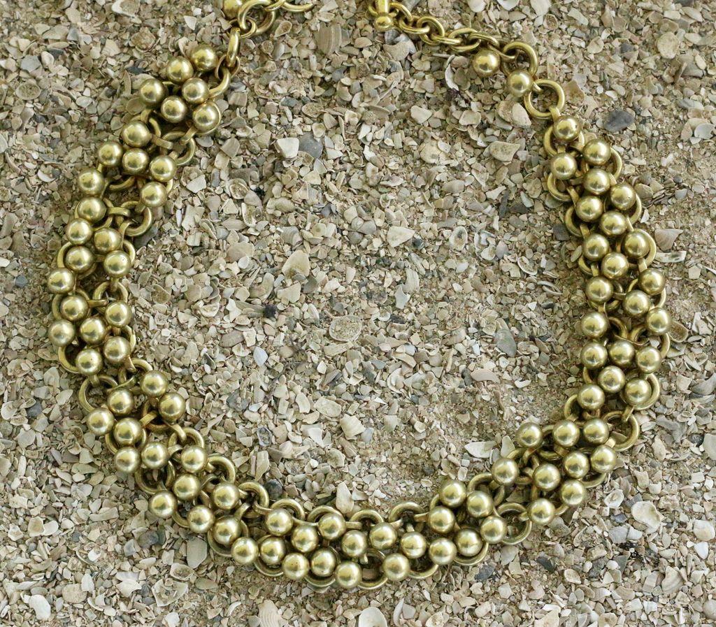 Jewelry Vaubel: VermeilSmall Knitte Balls