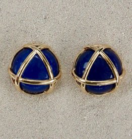 Jewelry VCElusives: Dark Blue with Gold Triangle