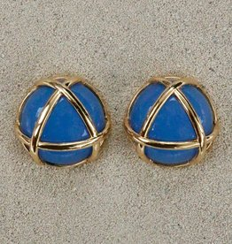 Jewelry VCElusives: Light Blue with Gold Triangle