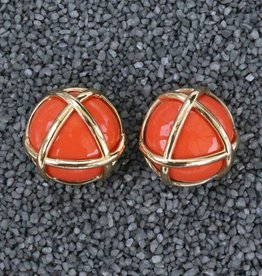 Jewelry VCElusives: Orange with Gold Triangle