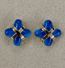 Jewelry VCElusives: Blue with Gold X