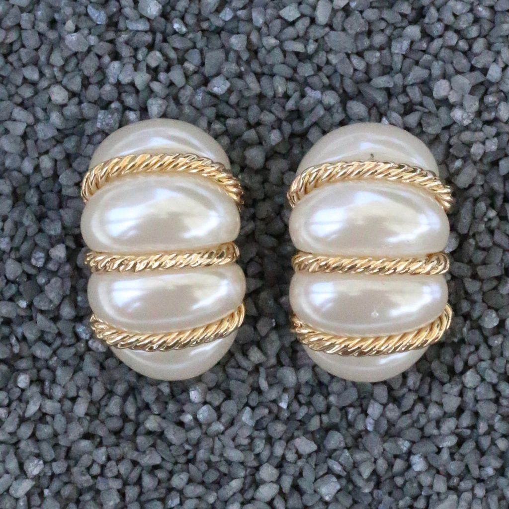 Jewelry VCExcluisives: Pearl Bundles w/Thin Gold Ropes