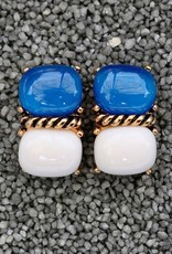 Jewelry VCExclusives: Two Piece Blue over White