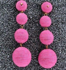 Jewelry KJLane: Pink Balls