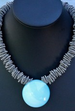 Jewelry VCExclusives: Maratea Light Blue with Silver Wire