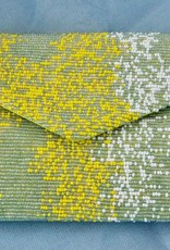 Handbags VCExlusives: Beaded Clutch / Yellow