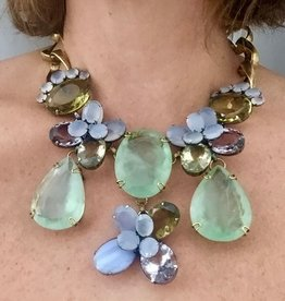 Jewelry Iradj: Semi precious Flowers
