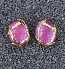 Jewelry VCExclusives: Oval Pink with Gold