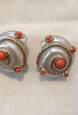 Jewelry VCExclusives: Pearl & Cable Shells w/ Coral