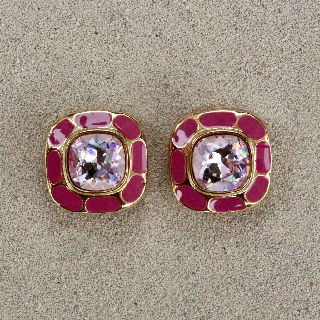 Jewelry VCExclusives: Square in Square Light Amethyst