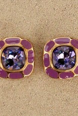 Jewelry VCExclusives: Square in Square Dark Amethyst