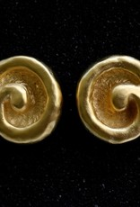 jewelry KJLane: Gold Satin Swirl
