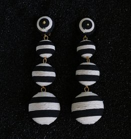 Jewelry KJLane: Balls Black and White