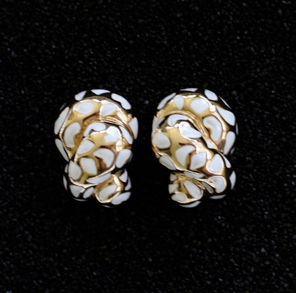 Jewelry VCExclusives: Leopard Coils White & Gold