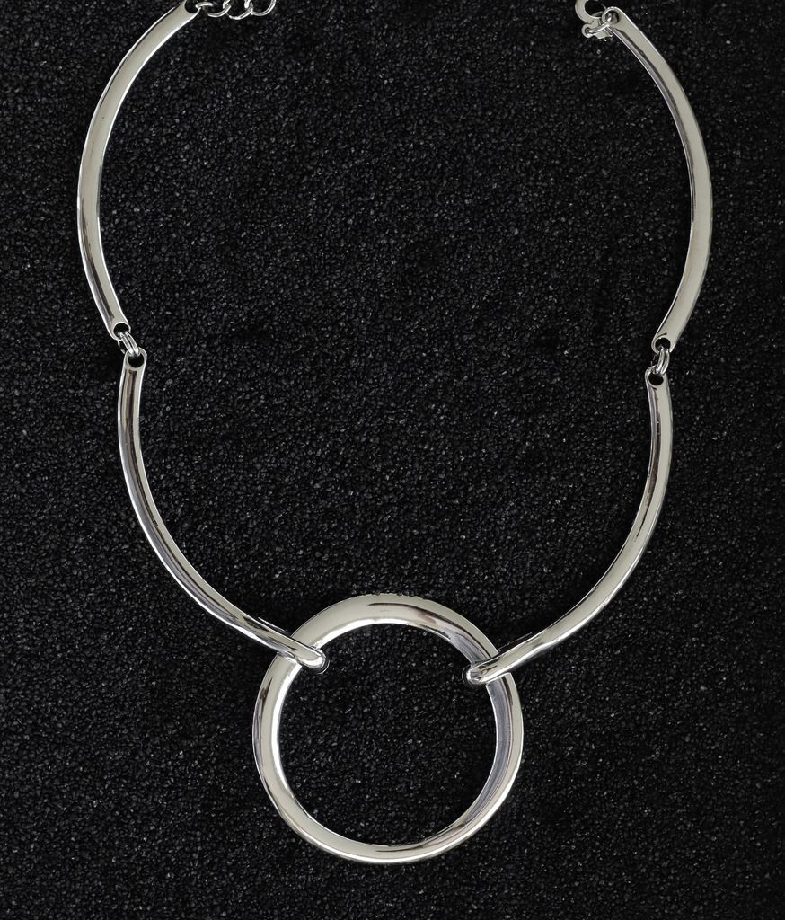 Jewelry KJLane: Loop Link Silver