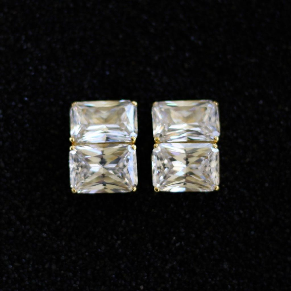 Jewelry Jardin: Clear Crystal Double Stack