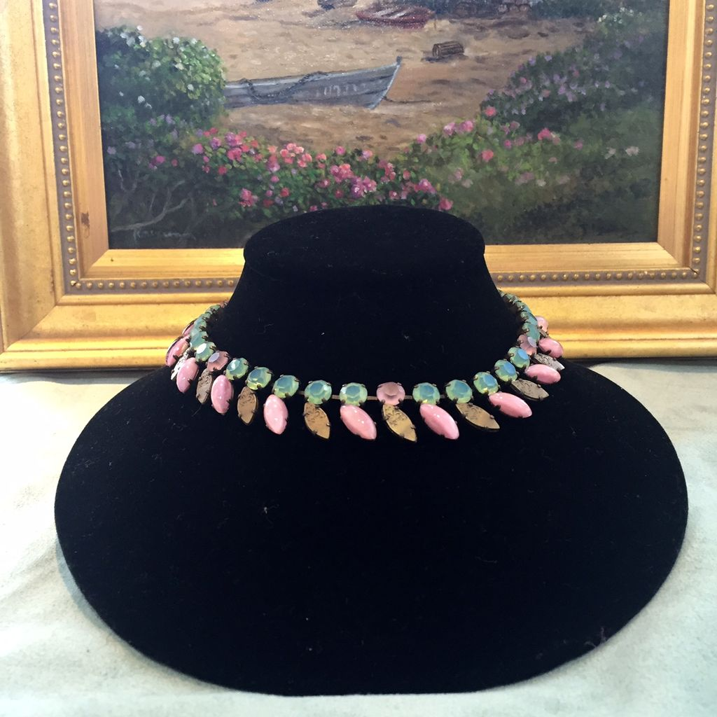 Jewelry Blinn: Green and Pink Crystel